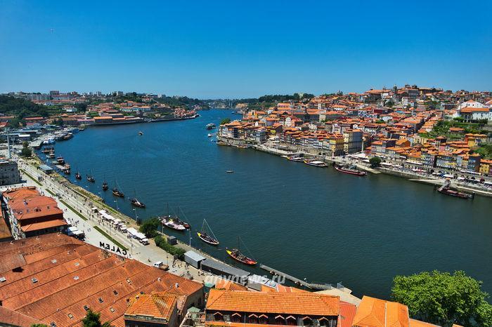 Порту, набережная реки Дуэру