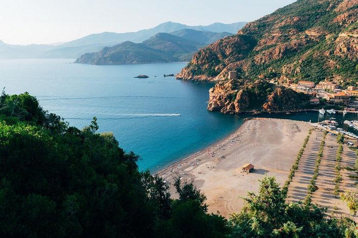 Корсиканское побережье