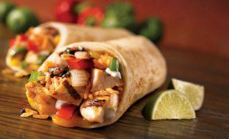 Блюда мексиканской кухни: буррито