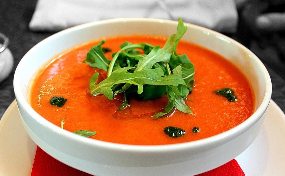 холодный суп гаспачо