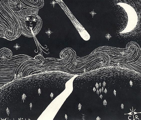 """Windy Night"" by Reene"