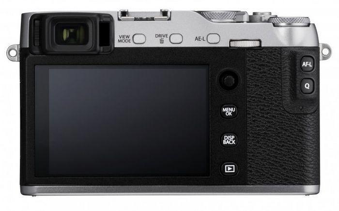 Fujifilm x-e3 дисплей