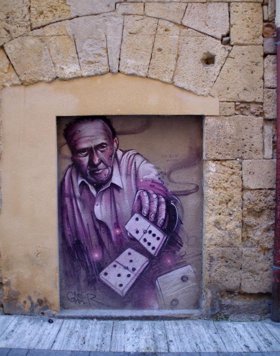 Граффити. Таррагона, Испания