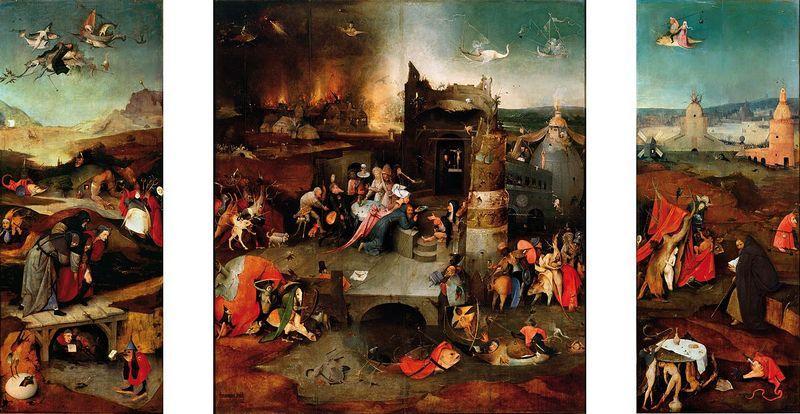 И. Босх, Искушение святого Антония