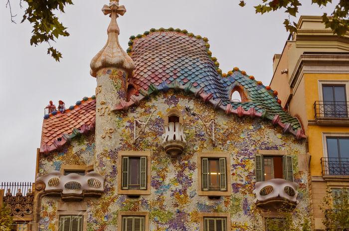 Дом Бальо крыша