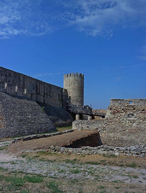 Стены крепости Калемегдан