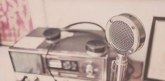 Старый микрофон