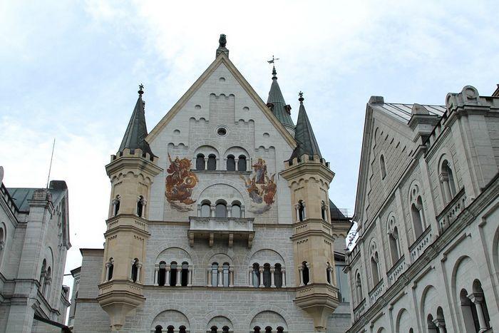 Замок Нойшванштайн, изображения