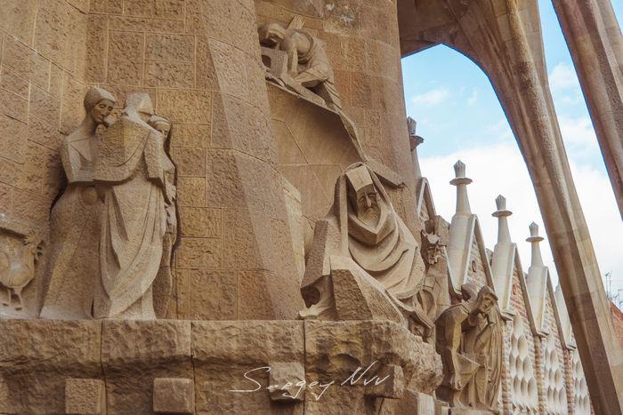La Sagrada Familia фасад