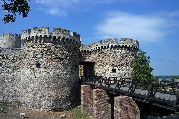 Крепостные стены, Белград