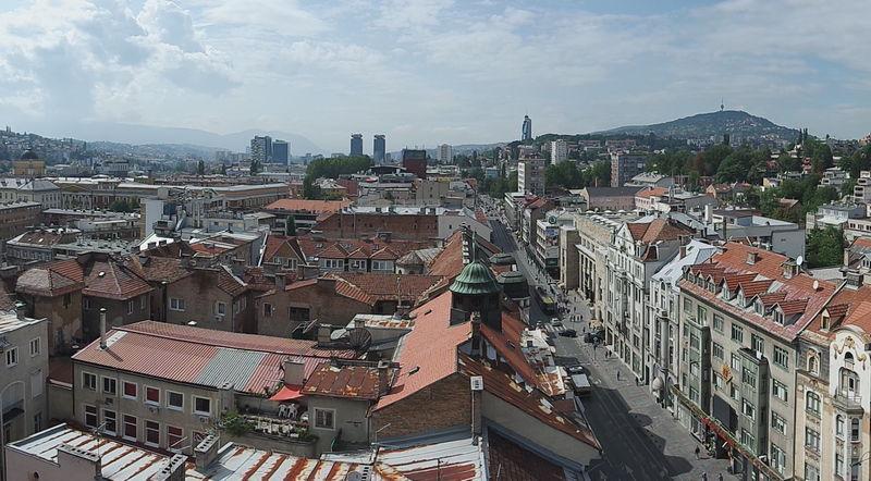 Виды Сараево