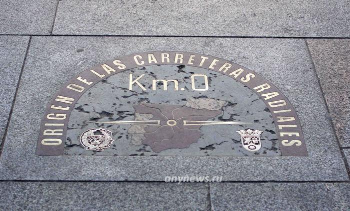 Нулевой километр, Мадрид