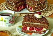 Шварцвальдский торт - рецепт с фото