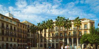 Площадь Конституции, Малага