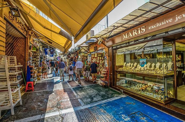 Шоппинг в Греции