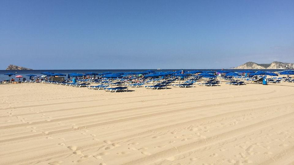 Пляж Бенидорма