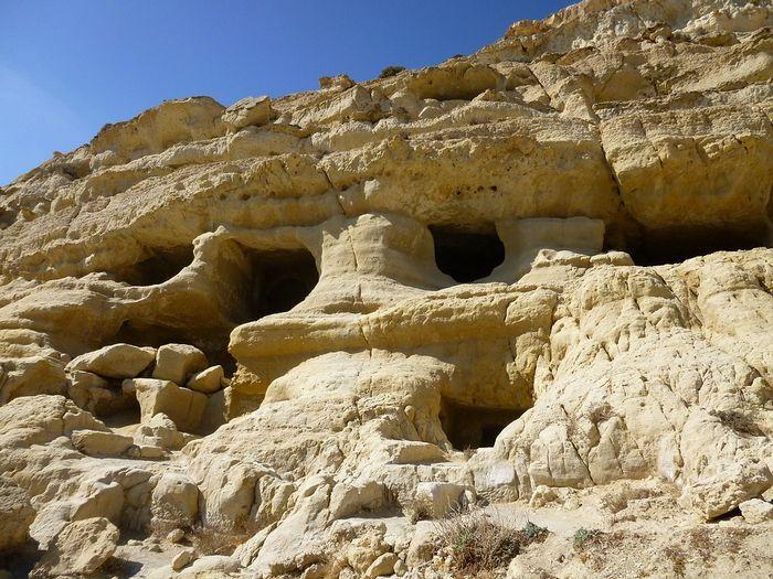 Пещеры в Матале