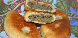 пирожки с печенью и картошкой - рецепт с фото