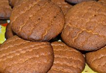 печенье из ржаной муки с медом - рецепт