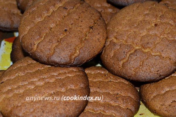 домашнее печенье из ржаной муки