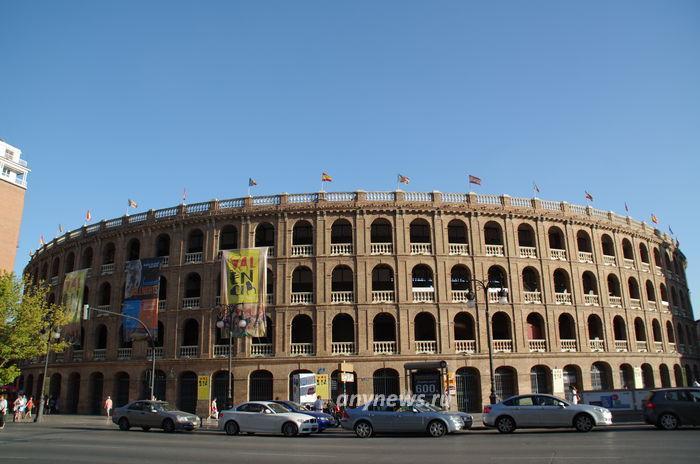 Валенсия, арена для боя быков
