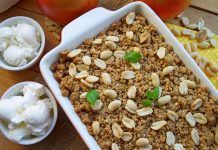Яблочный крамбл - рецепт с фото