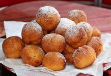 Пончики из творога жареные в масле на сковороде - рецепт с фото