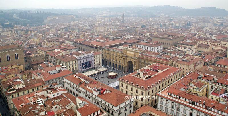 Флоренция, вид с домского собора