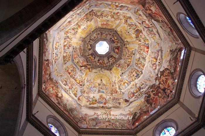 Оформление купола собора Санта Мария дель Фьоре