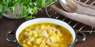 куриный суп с картошкой - пошаговый рецепт с фото