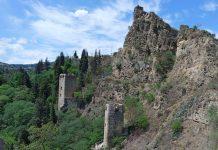 Башни крепости Нарикала