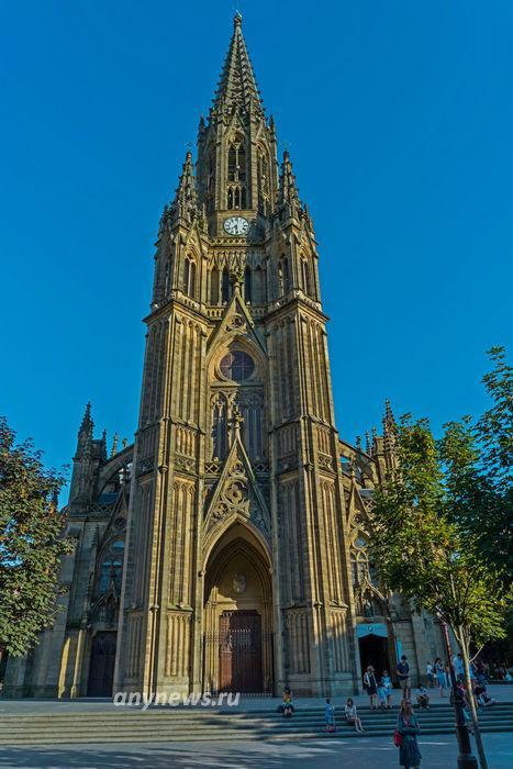 Кафедральный собор в Сан-Себастьяне