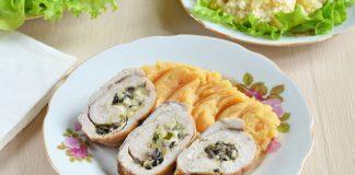 Куриный рулет с сыром - рецепт с фото