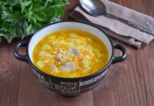 Куриный суп с пшеном и картофелем - рецепт с фото