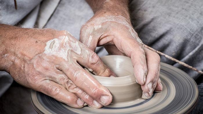 Создание глиняной посуды