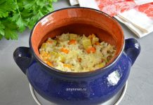 Рис с курицей в духовке - рецепт с фото