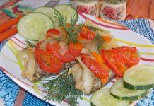 Как вкусно приготовить нототению в духовке с овощами - рецепт