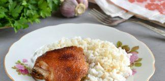 Курица в медово-соевом маринаде - рецепт