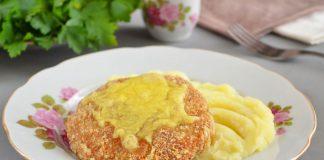 котлеты из курицы с сыром - рецепт