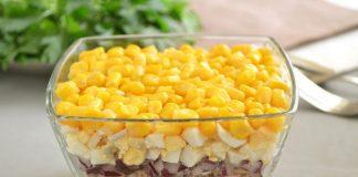 салат с консервированным тунцом - рецепт