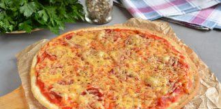 Быстрая пицца из готового теста - рецепт