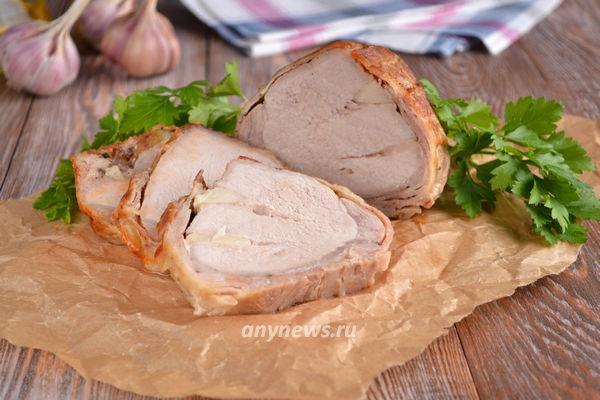 свиной карбонад в духовке