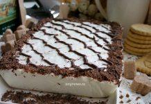 творожный торт без выпечки с печеньем - рецепт