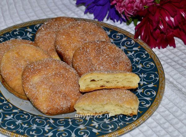 Творожное печенье с сахаром - рецепт
