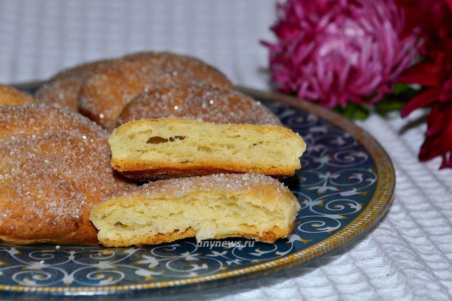 Печенье из творожного теста - рецепт с фото