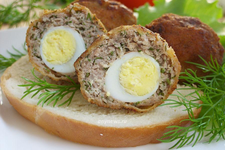 перепелиные яйца по шотландски - рецепт