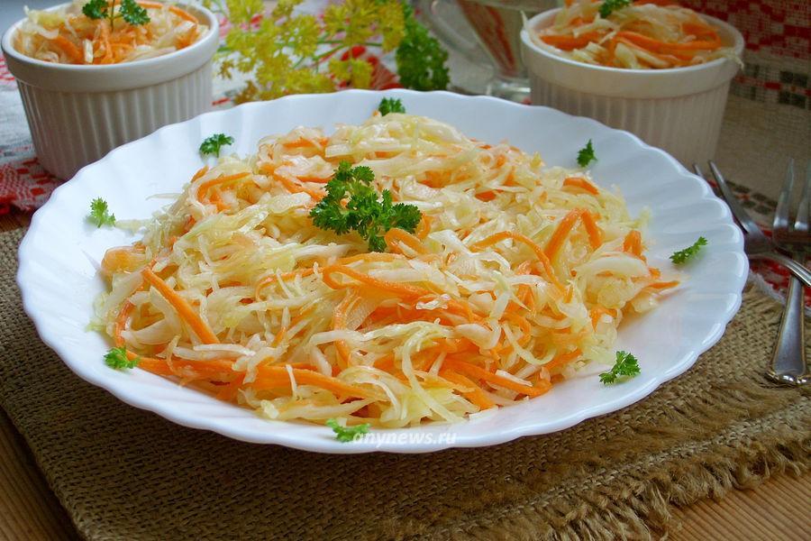 Рецепт капусты провансаль быстрого приготовления