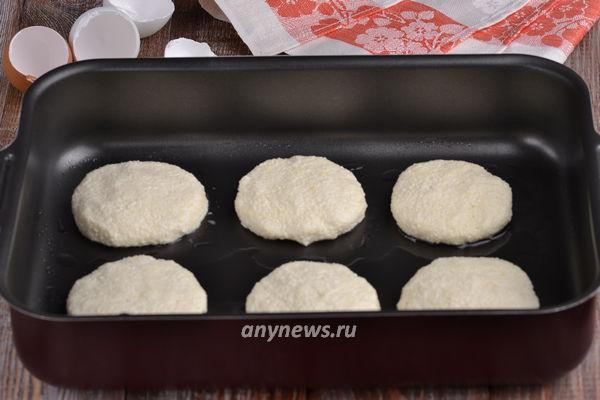 Воздушные сырники из творога в духовке
