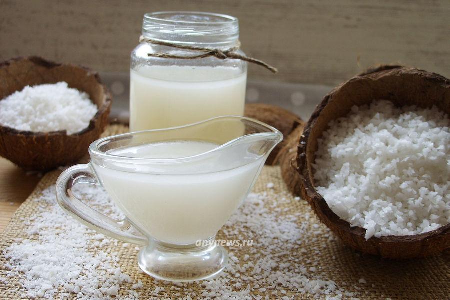Кокосовый сироп для коктейлей - рецепт