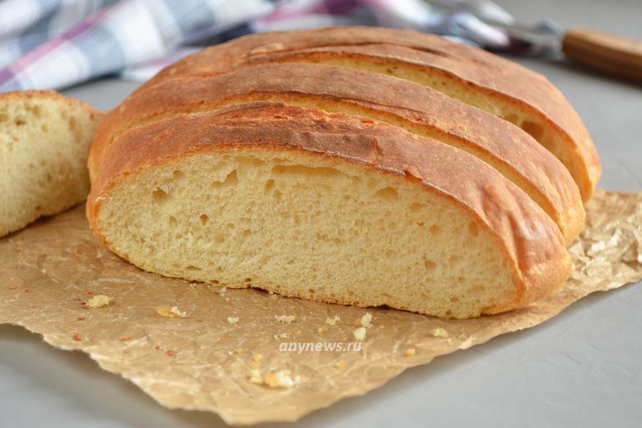 Домашний дрожжевой хлеб - рецепт